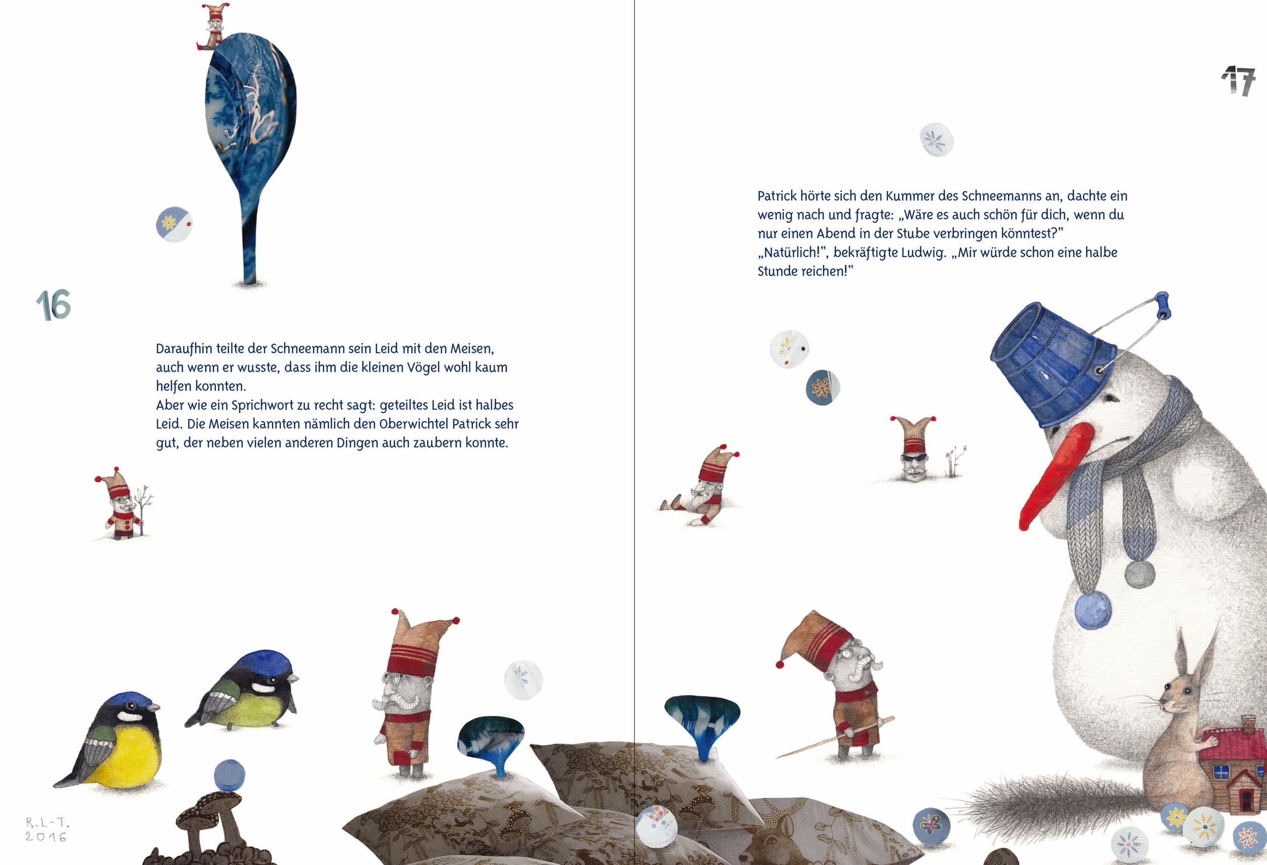 kinderbuch weihnachten schneemann ludwigs gr sstes gl ck. Black Bedroom Furniture Sets. Home Design Ideas